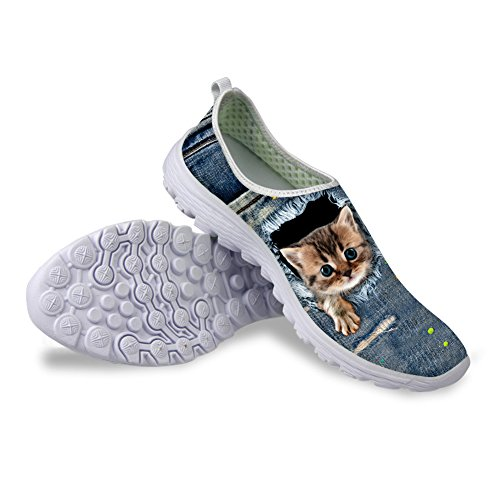 Sneakers Lady Lady Shoes Kitty 38 Mesh Breathable Kitty Running W0Ta065qU