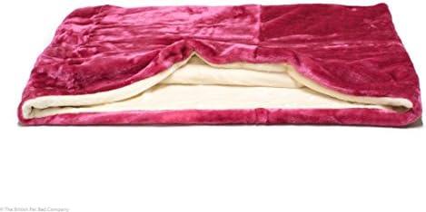Snuggle saco de dormir/mascotas cama para gatos o perros por Lola de mascota rosa y crema