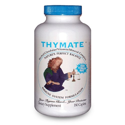 Thymate Herbal Glandular Vitamin Mineral Complex – 180 Capsules For Sale
