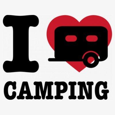 Sudadera con capucha de mujer I Love Camping Classic by Shirtcity Blanco
