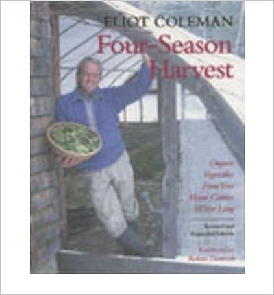 Downloadning af gratis e-bøger til krog Four-season Harvest: Organic Vegetables from Your Home Garden All Year Long (Paperback) - Common B00FFBA35G PDF