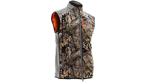 Nomad Dunn Primaloft Vest, Mossy Oak Country L - Reversible Hunting Vest