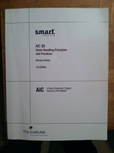Librarika AIC 30 Smart Study Aids Review Notes And Flash Cards A