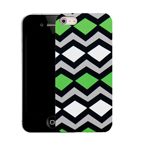 Mobile Case Mate IPhone 4s clip on Silicone Coque couverture case cover Pare-chocs + STYLET - serated pattern (SILICON)
