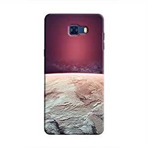 Cover It Up - Red Icecaps Galaxy C7 Pro Hard Case