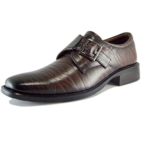 Brown Leather Formal Shoes - 11