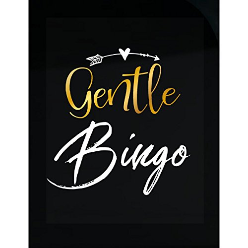 My Family Tee Gentle Bingo Name Gift Mothers Day Present Grandma - Sticker by My Family Tee