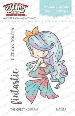 Amazon the greeting farm maisea mermaid clear stamps the greeting farm maisea mermaid clear stamps m4hsunfo