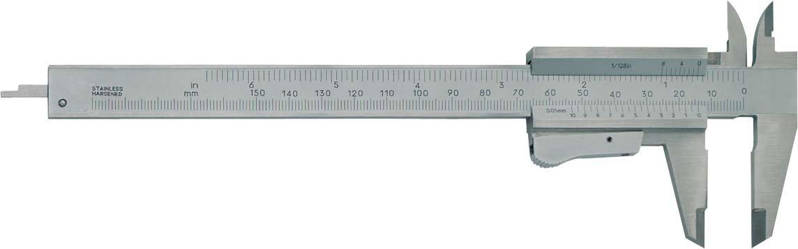 Format 7640020151 - Pie de rey de bolsillo 150mm para zurdos