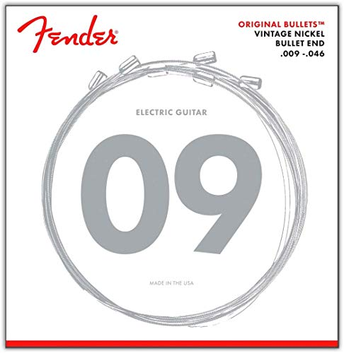 Fender 3150LR Original Bullets Electric Guitar Strings 9-46 3 Sets