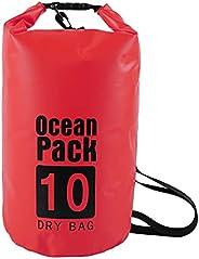 Xuwang Dry Bag Waterproof Bag, Ocean Pack Dry Bags, Phone Keys Baggage Dry Sack Swim Bags, Adjustable Shoulder