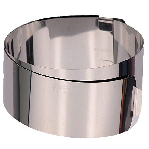 Zenker 2470 Anello per torte con 2 manici, 30 cm, acciaio INOX Zenker - FO 7708