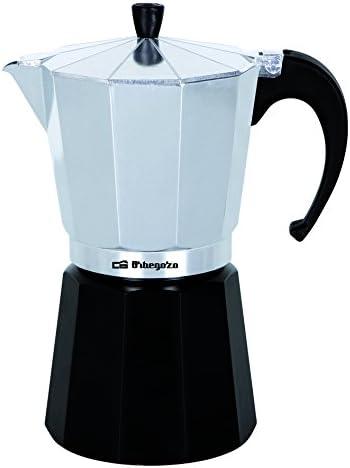 Orbegozo KFM 230 230-Cafetera, 2 Tazas, Color Plata, Aluminio, Negro: Amazon.es: Hogar