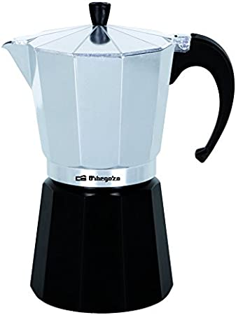 Orbegozo KFM 230 230-Cafetera, 2 Tazas, Color Plata, Aluminio ...