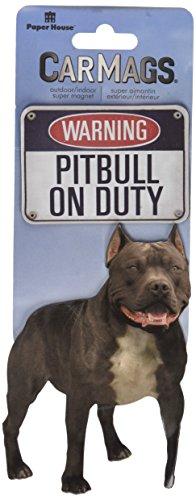 Car Magnet-Pitbull