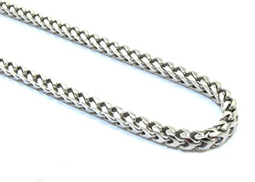 2mm 925 Sterling Silver Mens 30 Inch Chain Necklace with Lobster Lock Clasp by Traxnyc