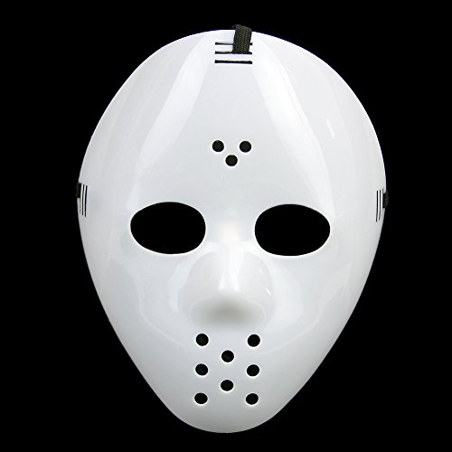 Batman Related Halloween Costumes (Chunlin 【Hallowmas mask】New Friday The 13th Prop Horror Hockey Halloween Costume Cosplay Mask)