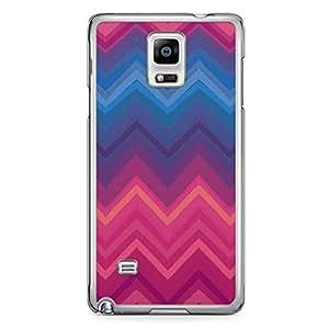 Chevron 2 Samsung Note 4 Transparent Edge Case - Chevron Collection