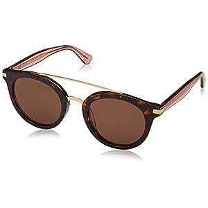 Tommy Hilfiger Women's Th 1517/s Round Sunglasses, Havana/Brown, 48 mm