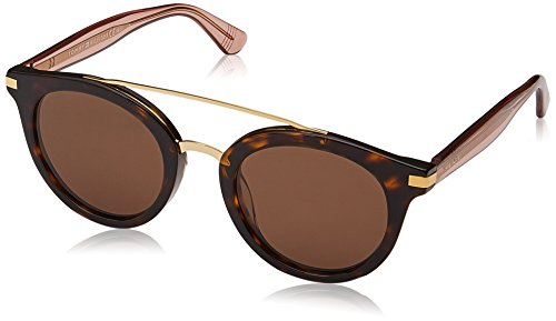 Tommy Hilfiger Women's Th 1517/s Round Sunglasses, Havana/Brown, 48 - Sunglasses Tommy Hilfiger Ladies