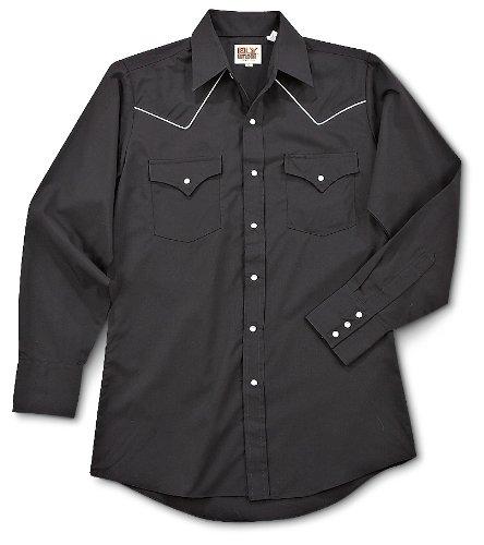 Long Sleeve Western Yoke Snap Shirt Large (Western Yoke)