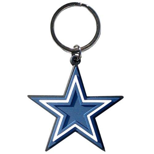 NFL Dallas Cowboys Flex Rubber Key Chain