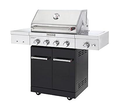 amazon com kitchenaid 720 0954a full size propane gas grill black rh amazon com kitchenaid gas grill parts kitchenaid gas grill replacement parts