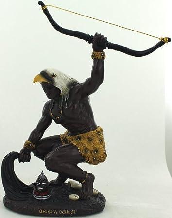Estatua del Orisha Ochosi