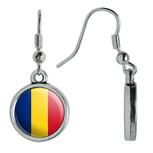 Novelty Dangling Earrings Country National