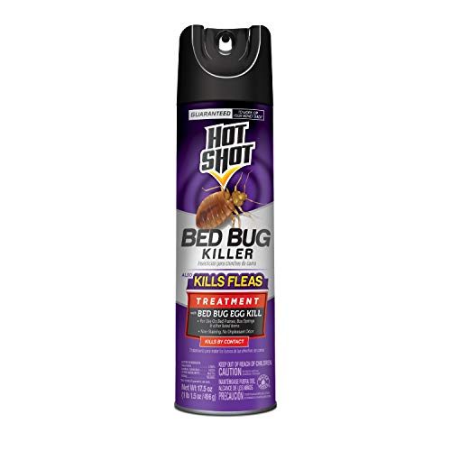 Insects Bed Bugs - Hot Shot Bed Bug Killer, Aerosol, 17.5-Ounce