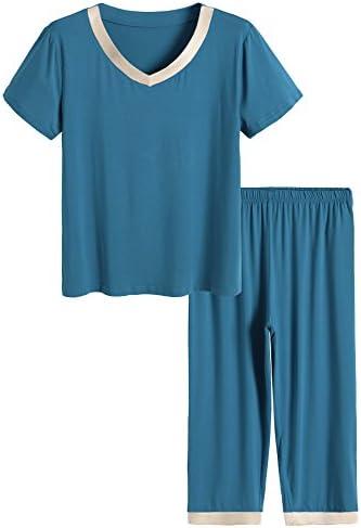 Latuza Womens Sleepwear Capri Pajama product image