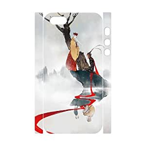 TOSOUL Custom painting Monkey King, Hero is Back Phone 3D Case For iPhone 5,5S [Pattern-1]