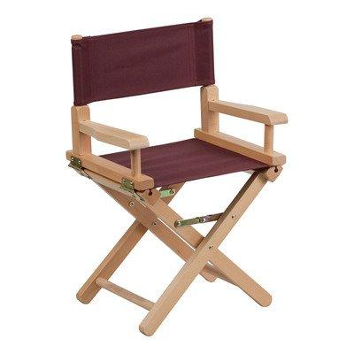Kids Directors Chair Color: Brown