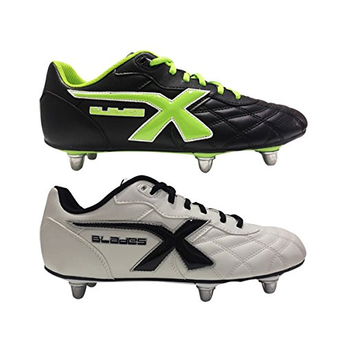 X3 Lames X Lames Légende 6 Stud Sg Chaussures Rugby Blanc