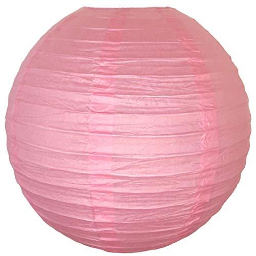 Kala Decorators Paper Lantern  41 x 41 cm, Pink