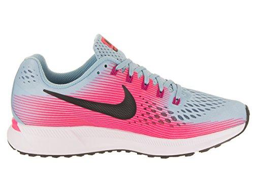 Blue Shoe Zoom 34 Womens Racer NIKE White Running N Air Pink Pegasus Mica U0Ezw