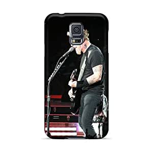 Samsung Galaxy S5 KGA1256ugOE Support Personal Customs Beautiful Metallica Band Image Perfect Cell-phone Hard Cover -TammyCullen