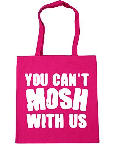 nbsp;cm nbsp;cm nbsp;litros 42 Nosotros Bolsa No Fucsia X38 Compras Con De 10 Se Puede Hippowarehouse Mosh Tote Playa w67UFHqH