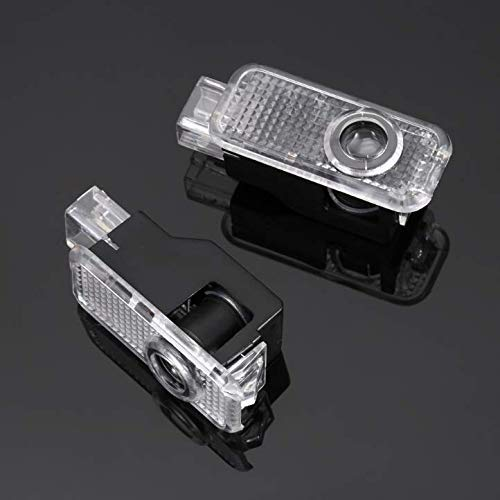 Audi Soondar 2 St/ück Universal Wireless Auto Projektion LED Projektor T/ürschattenlicht Willkommen Licht Laser Emblem Logo Lampen Kit ohne Bohren