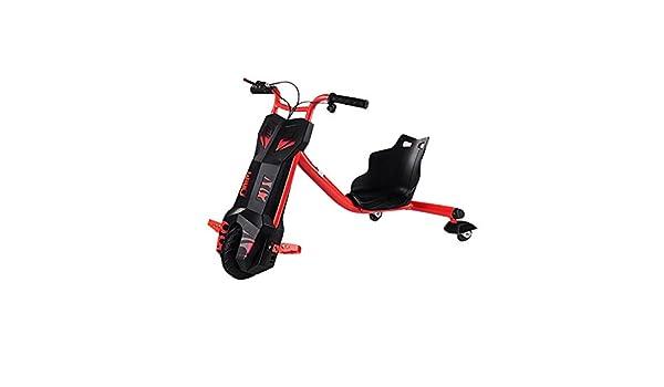 Run & Roll Fool Wheels - Triciclo Hoverboard eléctrico, Color Rojo, 6.5