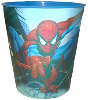 UPC 032281088514, Spiderman Lenticular Wastebasket