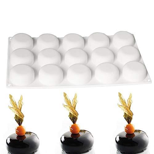 - Silicone Mold Mould 3D Molds Globe Stone Shape for Chocolate Mignon Tiramisu Caramel Bavaroise Truffle Mousse Monoportions Cake Tools