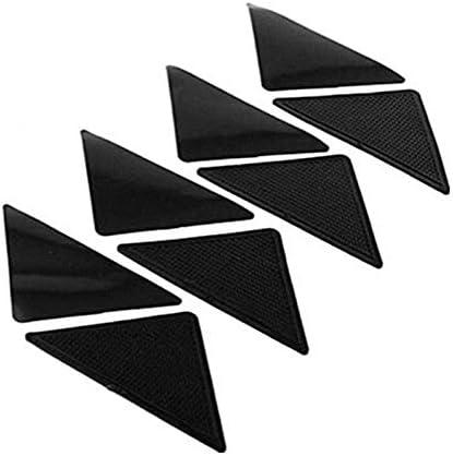 Anti Skid Carpet Mat Non Slip Small Corners Triangular Pad Washable Rodalind