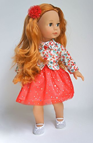 Gotz Precious Day Julia 18 Inch Doll With Red Hair Buy