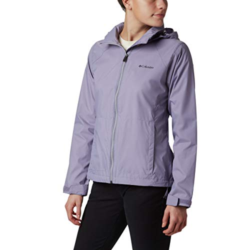 Columbia Women's Plus Size Switchback III Jacket, dusty iris, 2X ()