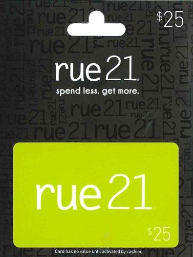 Rue 21 Gift Card  25