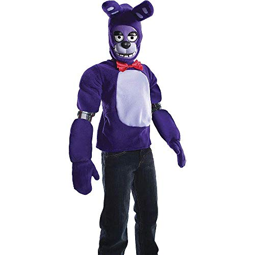 HalloCostume Videogame Costumes Compatible with Five Nights at Freddy's Boys Bonnie Costume - Five Nights at ()