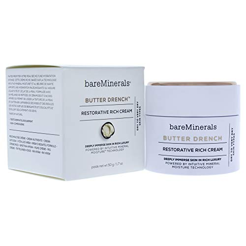 bareMinerals Butter Drench Restorative Rich Cream, 1.7 Ounce