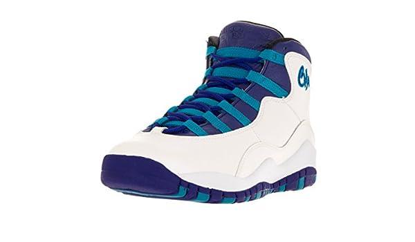 separation shoes 4faee 7ac8f Nike AIR Jordan 10 Retro BG (GS)  Charlotte  - 310806-107  Amazon.ca  Shoes    Handbags