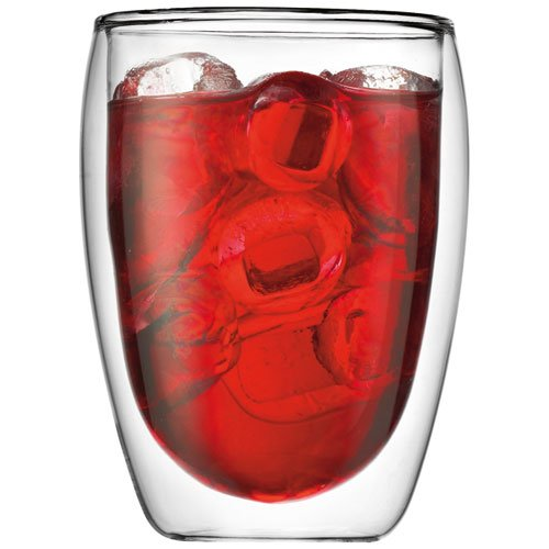 Bodum Pavina Double-Wall Insulated 12-Ounce Glasses, Set of 6